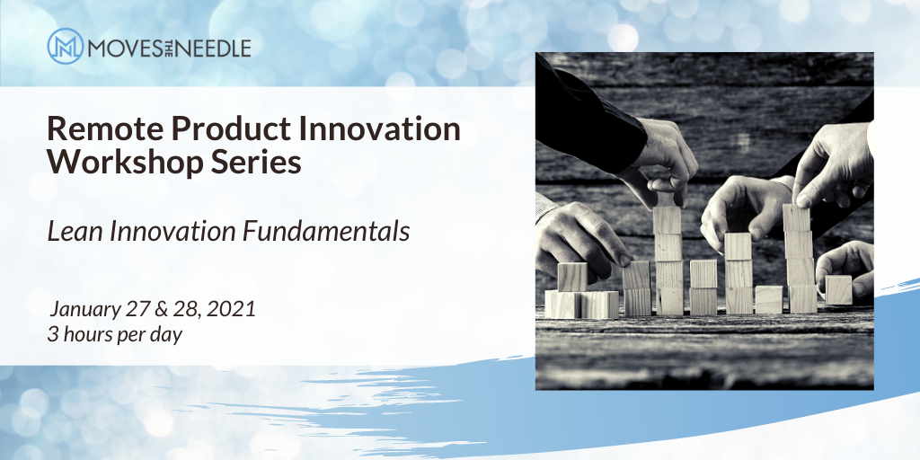 Lean Innovation Fundamentals Remote Workshop